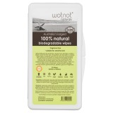 WOTNOT biodegradable travel wipes case- 20 pack